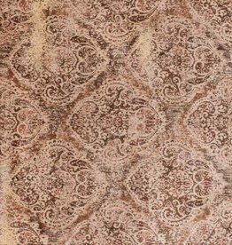 Anastasia Collection  Antique Tobacco Ivory 1'6in x 1'6in.