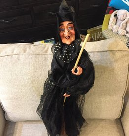 Lighted Halloween Dancing Witch