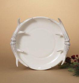 Dolomite Antler Serving Plate