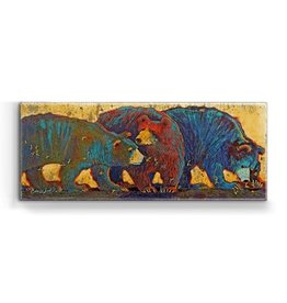 """Sting"" 3 Bears w/ Bees Metal Box Art"