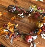 Harvest Garland W/ Pumpkins