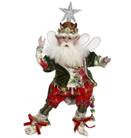 Tree Topper Fairy Sm 11""