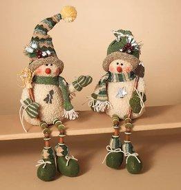 """14"""" Snowman Shelf Sitter--2 assorted"""