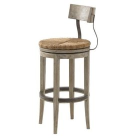lexington Whitewash counter stool