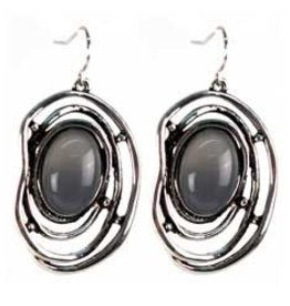 Organic Swirl Earrings
