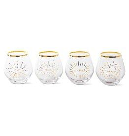 Holiday Spirit Glasses Set/4