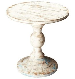 Butler Solid Wood Pedestal Table