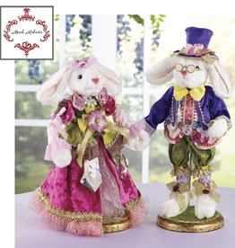 Mr & Mrs Cottontail -- Sm