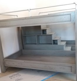 custom double bunkbed