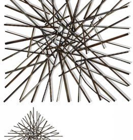Pick Up Sticks/Metal Wall