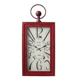 Yosemite Home Decor Wavin' Red Wall Clock
