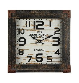 Yosemite Home Decor Timetrack Wall Clock