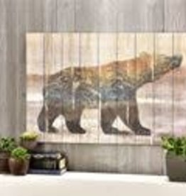 Bear Design-wood panel