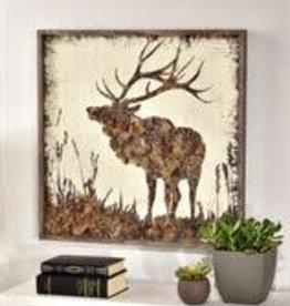 Framed Wood Elk Design