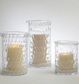 Honeycomb Hurricane Vase--Medium