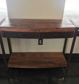 Yosemite Home Decor Mango Wood Accent Table