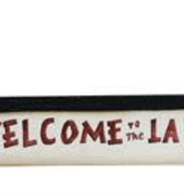 "Wood Canoe Wall Decor ""Welcome To The Lake"""