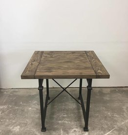 End Table, Top and Wood Banding