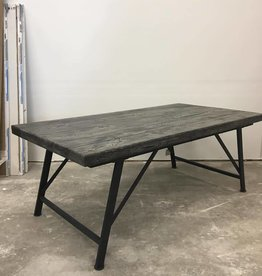 Cocktail Table/Metal Base