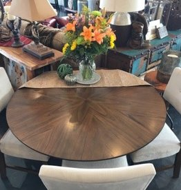 Round Dining Table/ Mindy Veneer