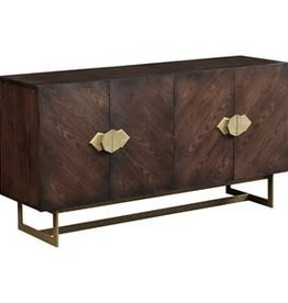 Coast To Coast Imports Four Door Media Credenza