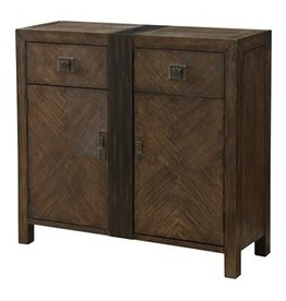Coast To Coast Imports Wood Cupboard/ 2 Drawer