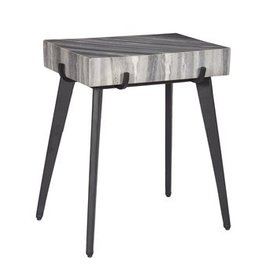 Coast To Coast Imports Accent Table / Marbled Top
