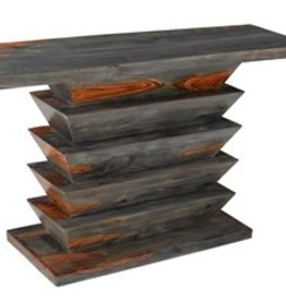 Coast To Coast Imports Vivid Wood Console Table