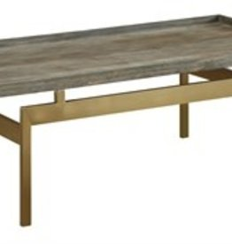 Coast To Coast Imports Raised Edge Cocktail Table
