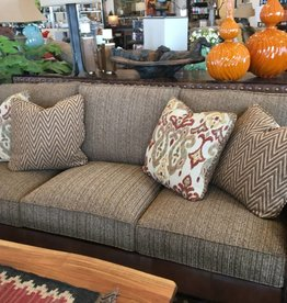 Savanah Leather Fabric Sofa
