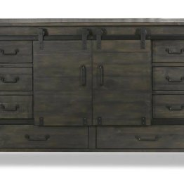 Abington Sliding Door Dresser