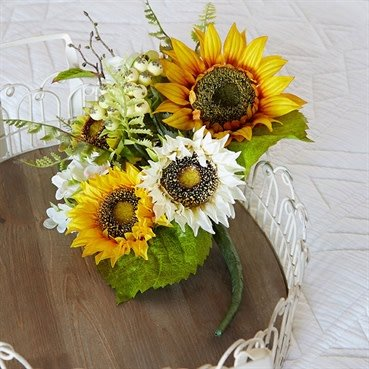 "Raz Imports 14"" Sunflower Bundle"