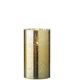 Raz Imports Gold Mercury Glass 3.5 x 6 / Unscented