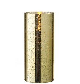 Raz Imports Gold Mercury Glass 3.5 x 8 / Unscented