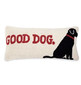 Good Dog Hooked PIllow