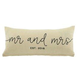 Mr. & Mrs. 2018 Pillow