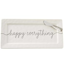 Happy  Everything Hostess Tray