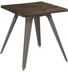 Coaster Rustic End Table with Live Edge Top