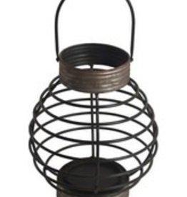 Privilege Brown Metal Candle Lantern--Medium