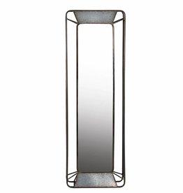 Privilege Rectangular Iron Wall Mirror