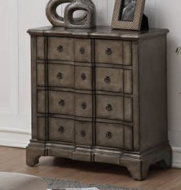 Coast To Coast Imports Weathered Grey / 4 Drawer Chest
