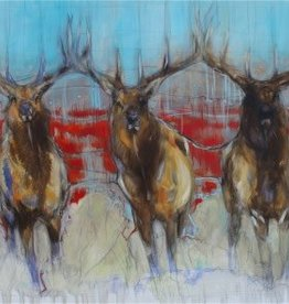 Antlers and Brothers 20x40