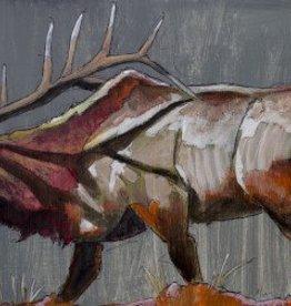 Elk Gray Bugle  30x60