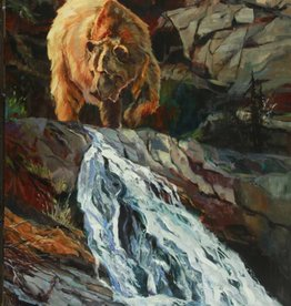 Above The Falls  40x30