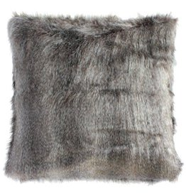 Harp & Finial Navajo Pillow--Gray Multi