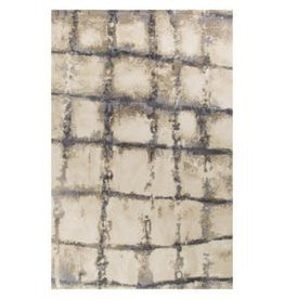 Madison Ivory/Grey Dimensions Rug  5X7