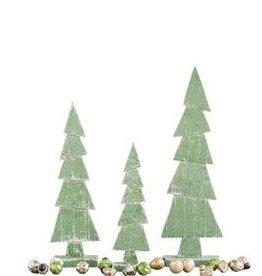 "Wood Tree On Stand--19"""