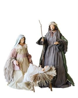 Resin Holy Family--34""
