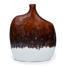 "Red Label Home Copper White Mango Jars 27""H"
