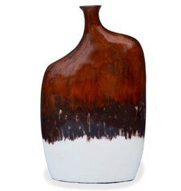 "Red Label Home Copper White Mango Jars 37""H"